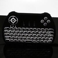2,4G Mini Drahtlose Tastatur Hintergrundbeleuchtung Maus Fernbedienung für Android TV Box Notebook PC Raspberry Pi