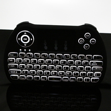 2.4G Mini Wireless Keyboard Backlight Mouse Remote Control for Android TV Box Notebook PC Raspberry Pi