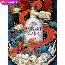 MomoArt Diamond Painting Fantasy Embroidery Full Square Rhinestone Mosaic Cartoon Wall Decoration