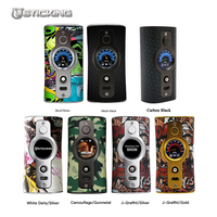 Vsticking VK530 200W TC Box Mod Dual Battery Electronic Cigarettes Mod Max 200w Vaporizer temperature control Vape SS316 Ni Ti