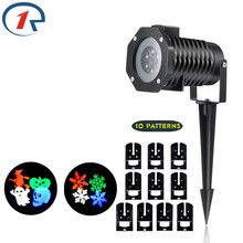 Waterproof projection Christmas LED