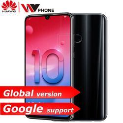 Huawe Honor 10 Lite honor10 Smart phone 6.21 inch 2340*1080 Octa Core Mobile Phone 3 Cameras Fingerprint