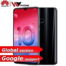 Küresel sürüm Huawe honor 10 Lite honor 10 Akıllı telefon 6.21 inç 2340*1080 Octa Çekirdek Cep Telefonu 3 kameralar Parmak Izi