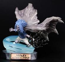 17cm Anime Uchiha Sasuke Sigil bird Action Figure NARUTO Hokage Ninjia PVC Hobby ULTIMATE CHIDORI Movie Model Doll Toy hot Gift