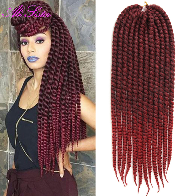 14 18 22 Ombre Braiding Hair Havana Mambo Twist Hair Extension