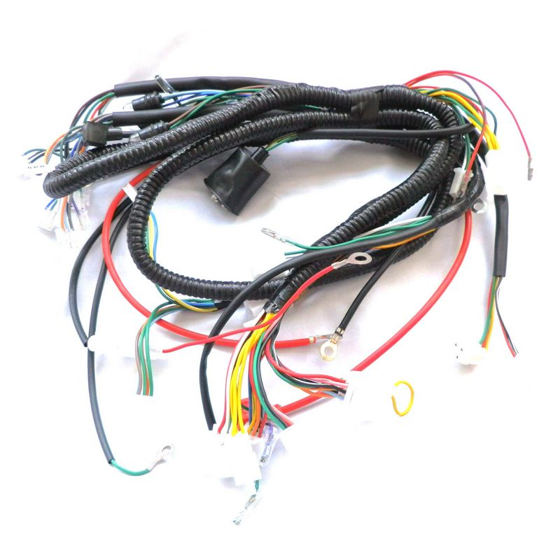 CHINESE GY6 font b 150CC b font font b WIRE b font font b HARNESS b original gy6 150cc wiring harness diagram wiring diagrams for GY6 150Cc Wiring Harness Exploded Diagram at panicattacktreatment.co