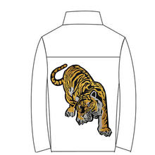 Embroidered Tiger Large Cloth Stickers Coat Jacket Decoration Clothing Accessories DIY Modified Labeling(China)
