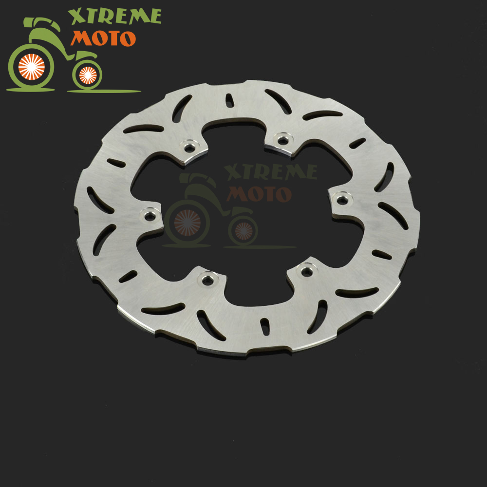 267mm Rear Brake Disc Rotor For XP T-MAX Scooter 500 2001-2011 FJR1300 2001-2010 XJR1300 1998-2012 1 pcs motorcycle rear brake rotor disc braking disk for yamaha xp 500 t max 2001 2011 xp500 tmax abs 2008 2011