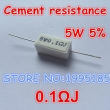 Резистора цемент j керамическая ом мощность шт./лот вт