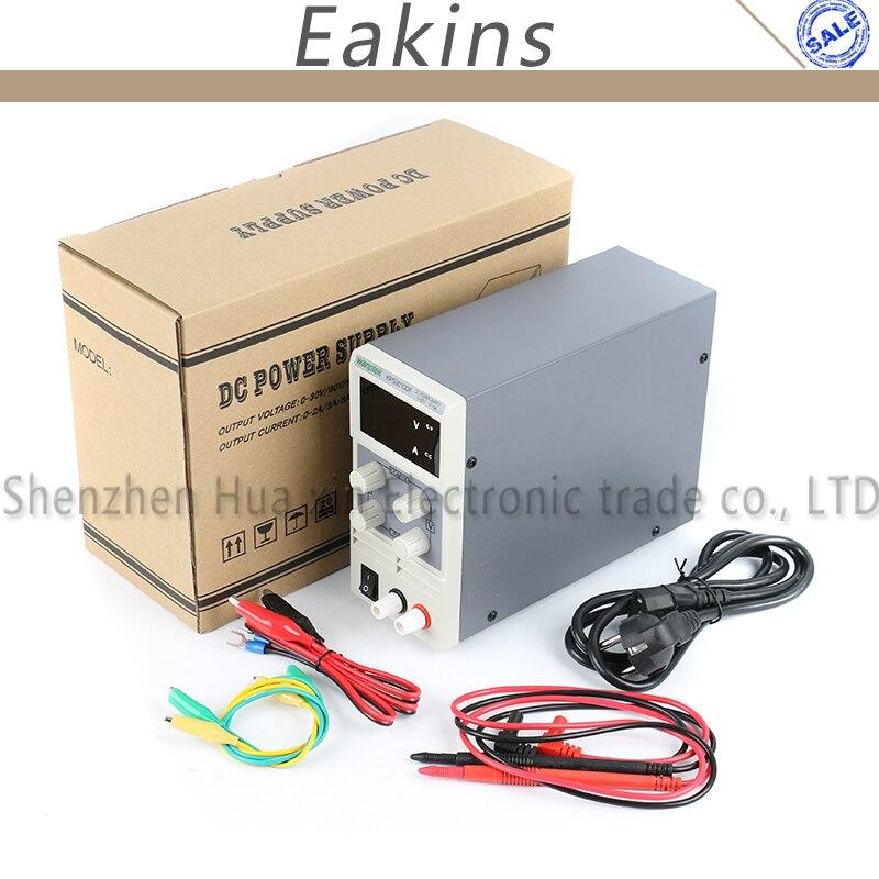KPS-3010D KPS-3010DF Mini Digital ajustable laboratorio DC fuente de alimentación 30 V 5A 10A 110 V-220 V de conmutación fuente de alimentación 0,1 V/0.01A - 5