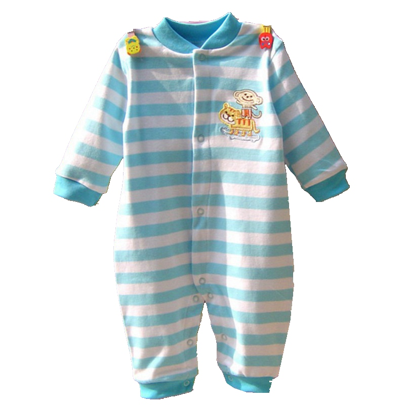 Monkey on Tiger Sky Long Sleeve Baby Rompers for Boys Jumpsuit Ropa Bebe Macacao Baby Boy Clothes Toddler Romper Infant Clothing newborn baby rompers baby clothing 100% cotton infant jumpsuit ropa bebe long sleeve girl boys rompers costumes baby romper