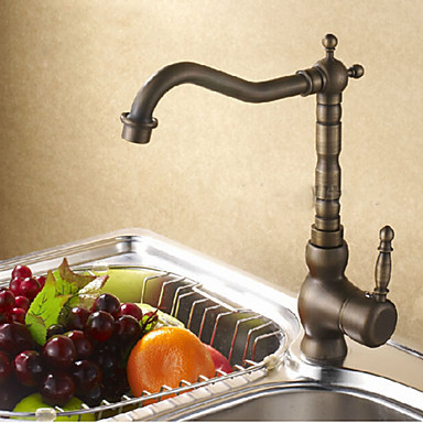 CoVintage Style Brass Bronze Pull Out Kitchen Sink Faucet Water Tap ,Torneira Para Pia Cozinha Grifo Cocina jomoo brass kitchen faucet sink mixertap cold and hot water kitchen tap single hole water mixer torneira cozinha grifo cocina