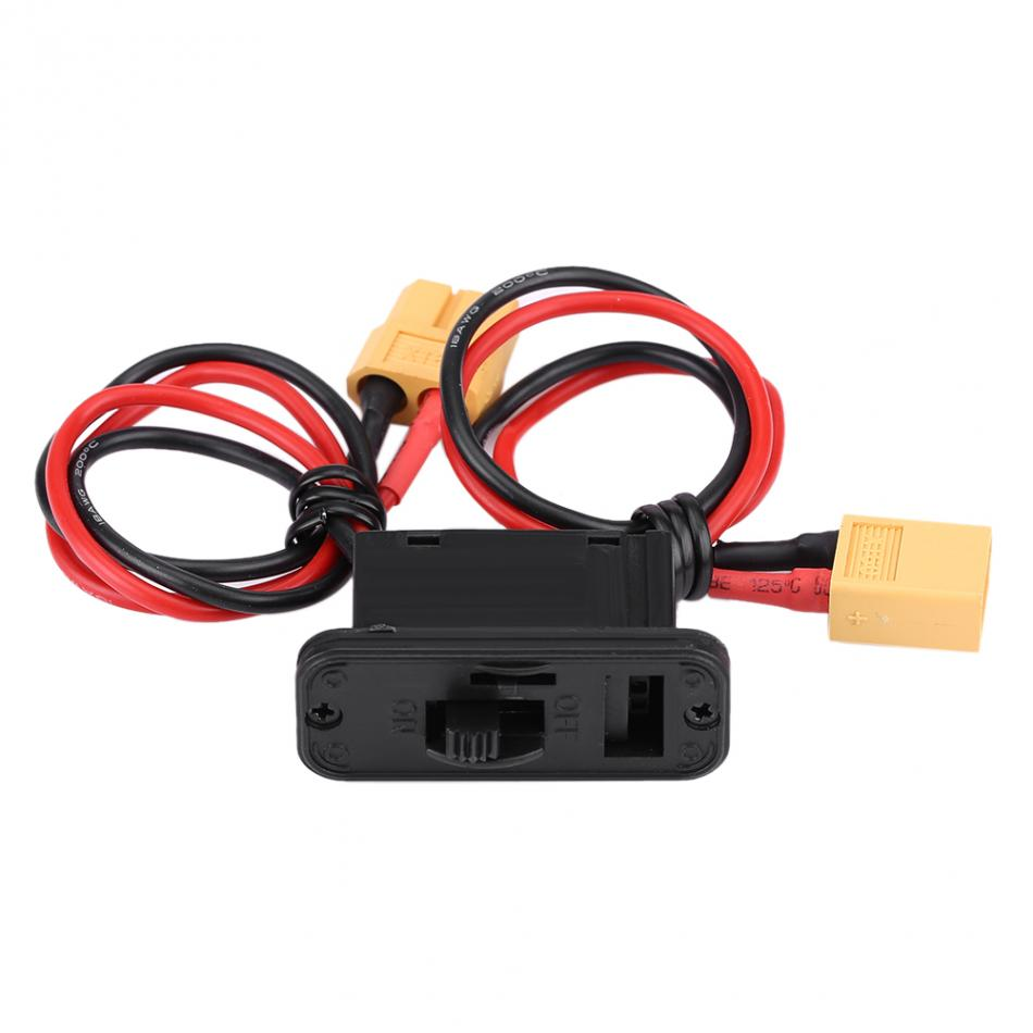 1pc Heavy Duty Large Current Power Switch font b Battery b font Holder Connector For RC