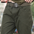 Nueva moda Masculina Pantalones overoles de algodón de los hombres hombre ropa de trabajo pantalones de ocio de Los Hombres pantalones Cargo pantalones militares Mk-713