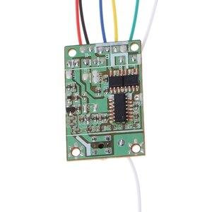 Image 3 - 8 przycisków 4CH pilot zdalnego sterowania z planszowe odbiornik 27Mhz antena dla DIY SN RM9