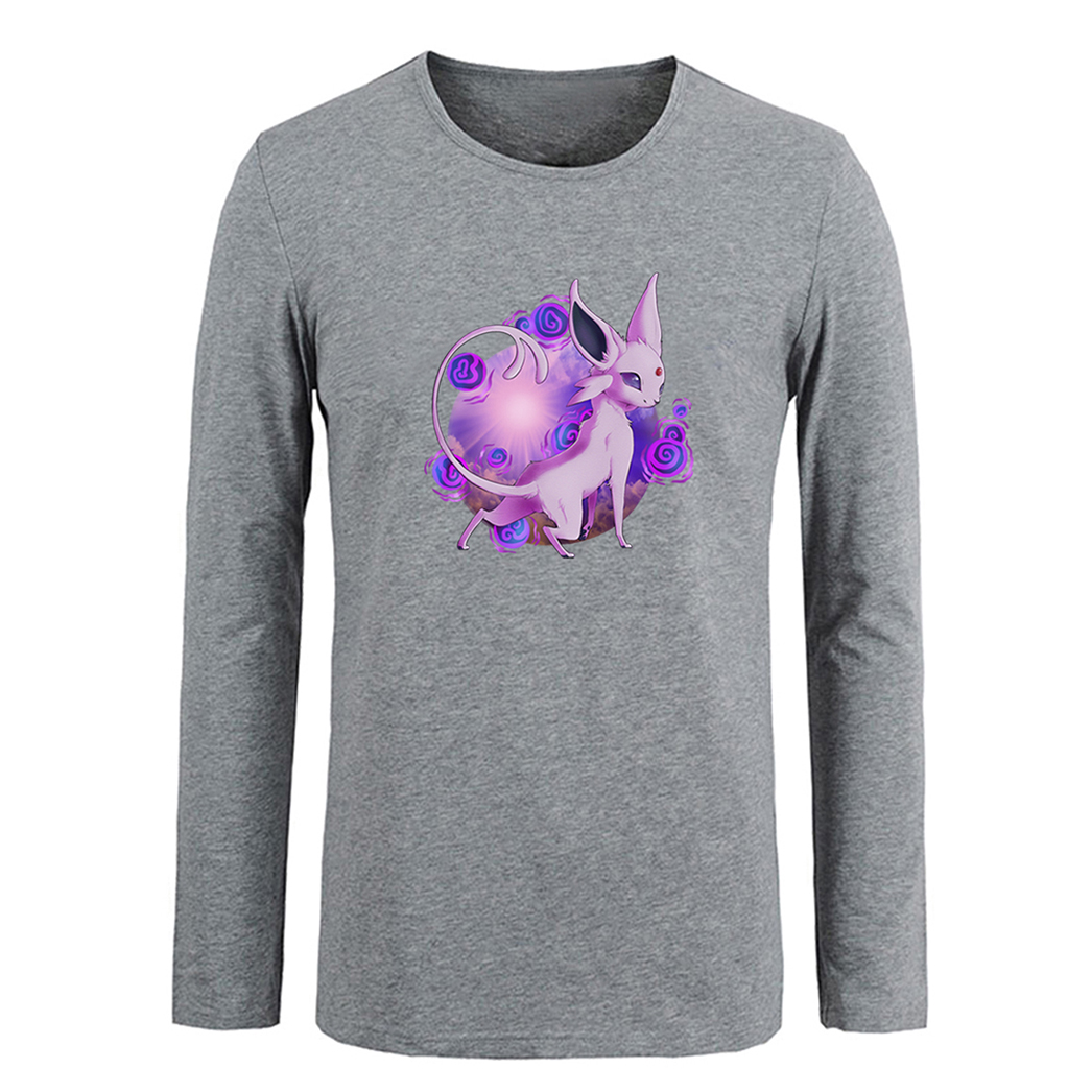 Design tshirt family - Pokemon Espeon Eevee Family Design T Shirt Men Women Girl Boy Tshirt Fitness Cotton T