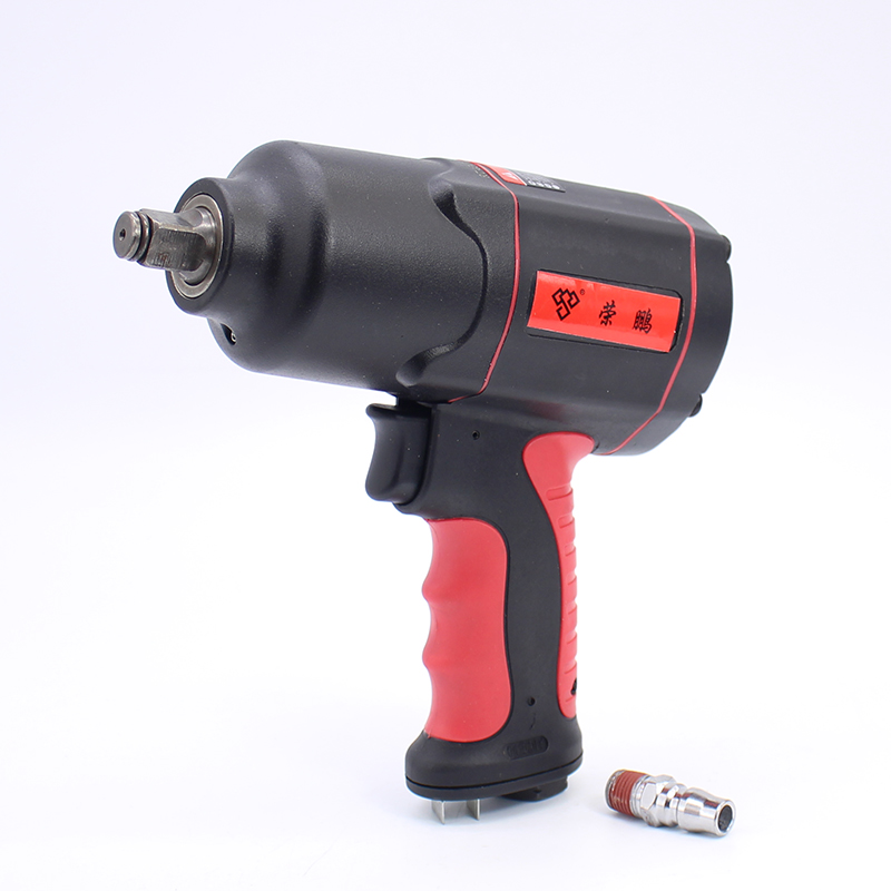 610N.M 1/2 Inch Pneumatic Impact Wrench Air Wrench Tools Car Wrench Repair Tool Wrench 1 2 inch mini pneumatic air impact wrench air impact wrench car repair auto wrench tool double ring hammer