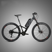 27.5inch Carbon fiber electric bicycle Travel bike Lcd 36V lithium battery 250w mid drive motor electric ebike lightweight bike