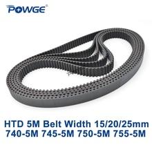 POWGE courroie de synchronisation HTD 5M