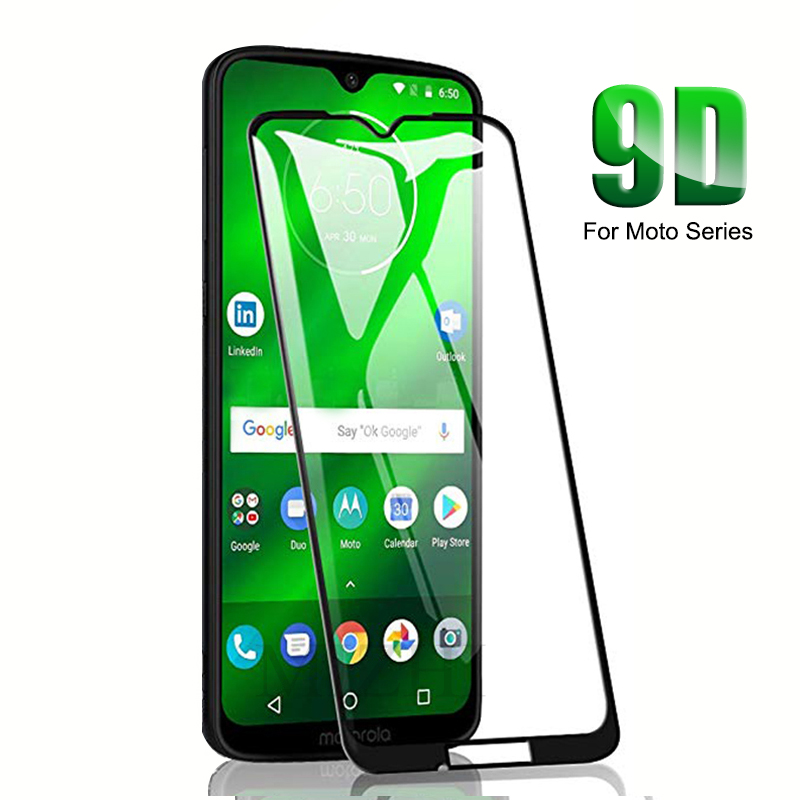 9D Curved Tempered Glass for moto g6 g7 play plus power e5 e4 p30 note protective glas on moto g 7 plus screen protector film image