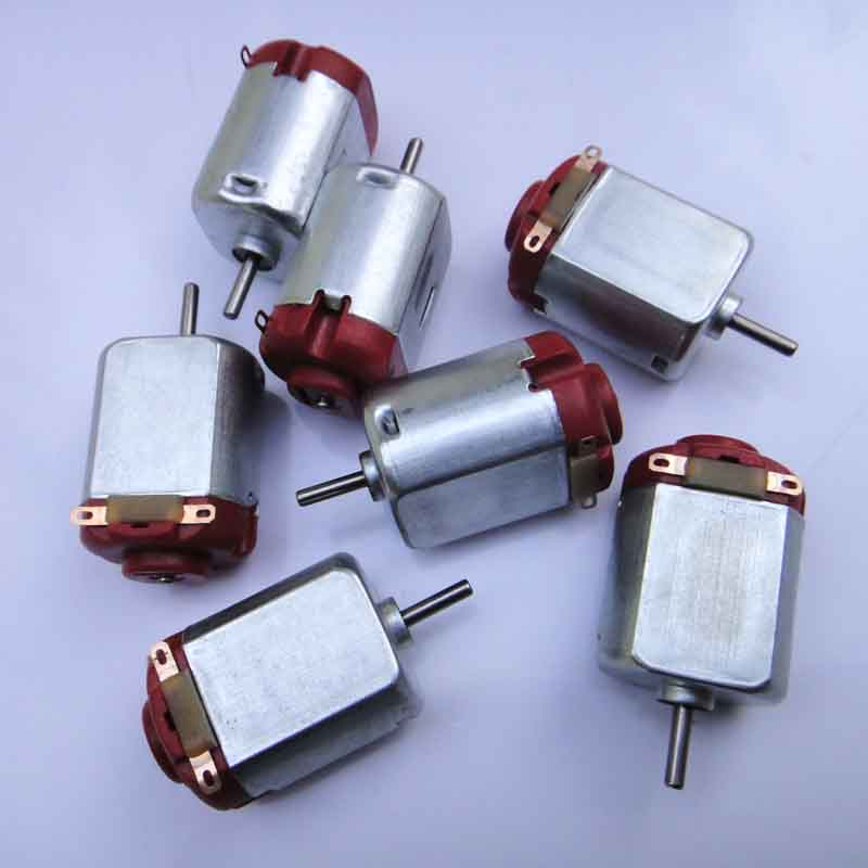 8pcs Motor 130 Micro DC Motor Four Wheel small toy motor Drive motor Experiment/DIY toy accessories/baby toys for children