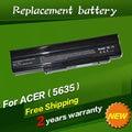Jigu laptop as09c31 batería as09c71 as09c75 para acer extensa 5235 5635 5635g 5635zg 5635z bt.00603.078 bt.00603.093 bt.00607.073