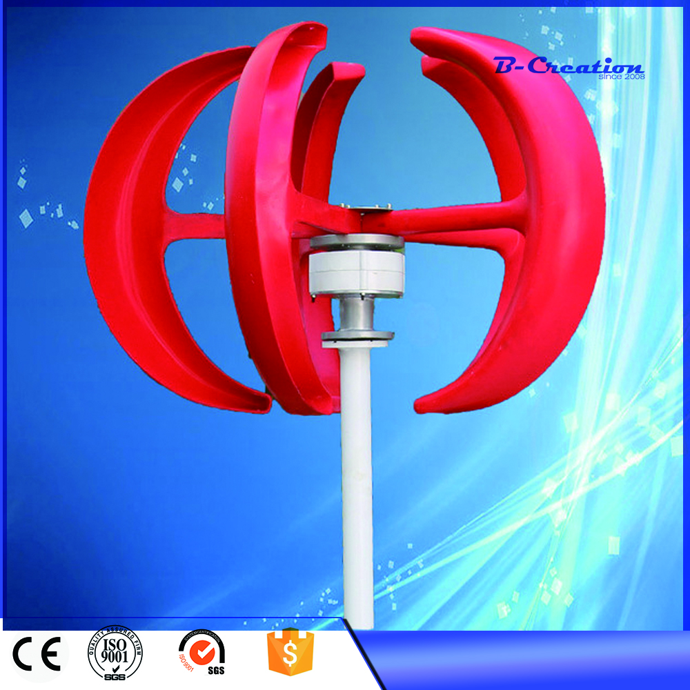 2017 Hot Sale Real Wind Power Generator 200w 12v Vertical Axis Wind For Turbine For Dc Vawt Generator, Simple Installation  цены