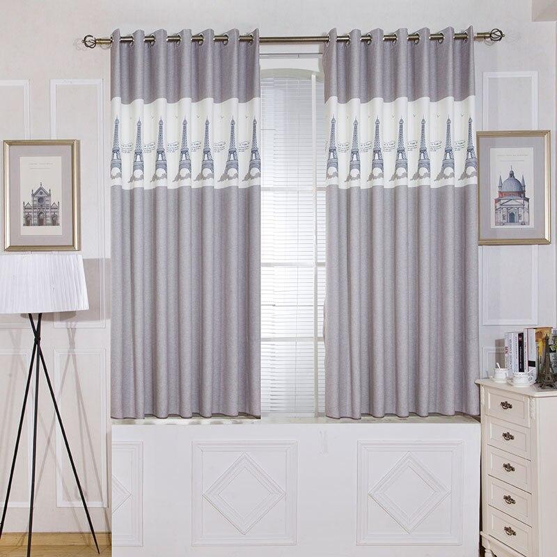 Enkele panelen grijs korte slaapkamer gordijnen keuken for Gordijnen voor slaapkamer