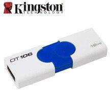 Kingston USB Flash Drive USB3.zero 16GB DT106 USB Three.zero Pendrive Reminiscence Stick Automobile U Disk For Mac/PC Music Automobile Flash Drive U Disk