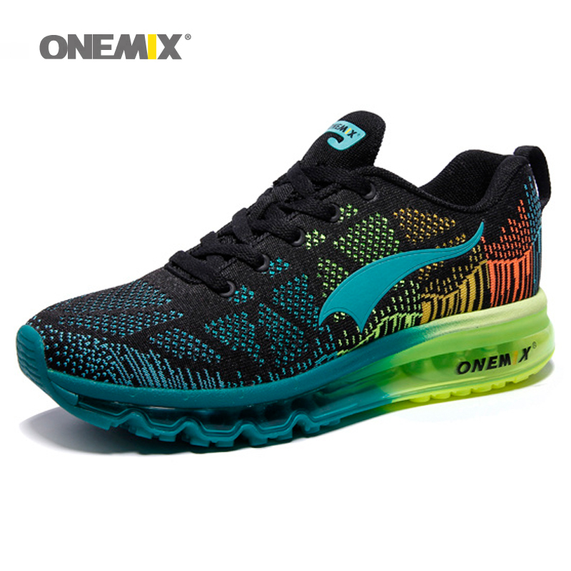 Onemix Air Running Shoes för män Sommar Sneaker Super Light Shoes Andas Athletic Shoes sport air max skor gratis original