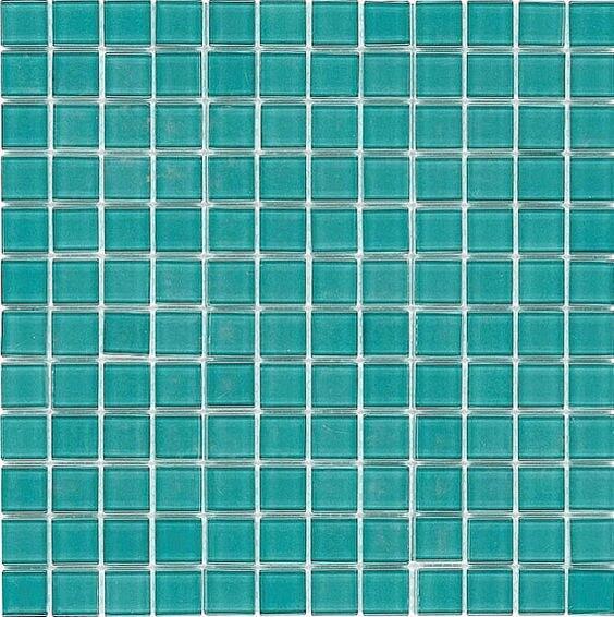 Aquamarine crystal mix mosaic bathroom mosaic kitchen tiles on