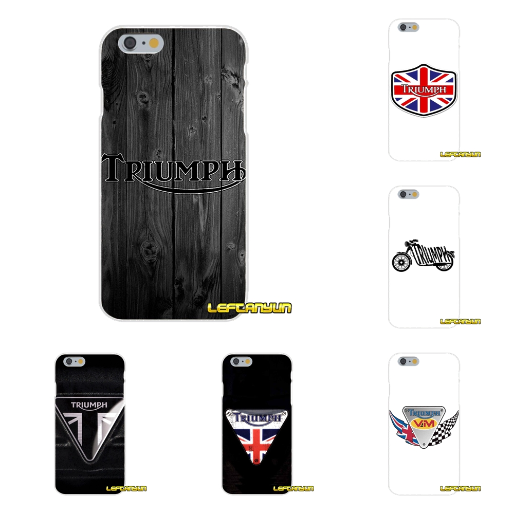 triumph motorcycle logo Soft Silicone phone Case For Samsung Galaxy A3 A5 A7 J1 J2 J3 J5 J7 2015 2016 2017