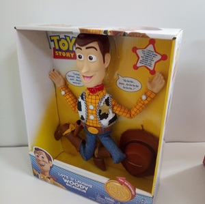 Image 4 - Pixar Original Toy Story 4 Viele Hee Woody Reden/Singen Jessie PVC Action Figure Sammeln Modell Geschenk Elektrische Plüsch spielzeug