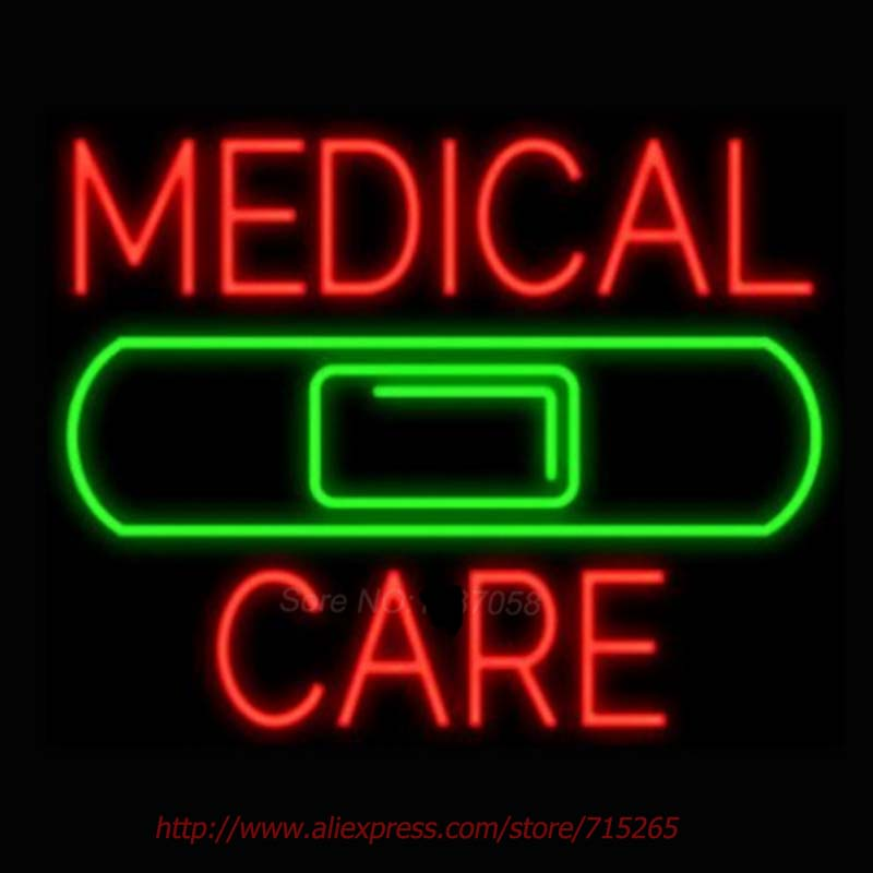 medical care band neon signs for home neon bulbs real glass beer neon handcrafted advertise bulb. Black Bedroom Furniture Sets. Home Design Ideas