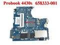 Оригинальный 658333-001 Материнская Плата для HP PROBOOK 4430 S ноутбук Notebook PC systemboard 100% тестирование работы Идеально Гарантированность 90 Дней