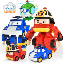 Lensple Hot Sale Korea Robot Super Wings Transformation Toys Action Figure Toys Best Birthday Christmas Gifts