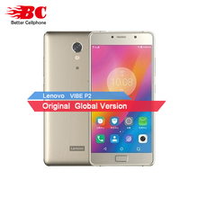 Original Neue Lenovo Vibe P2 LTE Handy Android 6.0 Octa Core 2,0 GHz 5,5 inch Abendessen AMOLED 4G RAM 64G ROM 5100 mAh