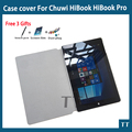For Chuwi HiBook Pro case High quality 10.1 Inch Pu Leather Case For CHUWI HiBook Pro / HiBook / Hi10 Pro Tablet PC + 3 Gifts