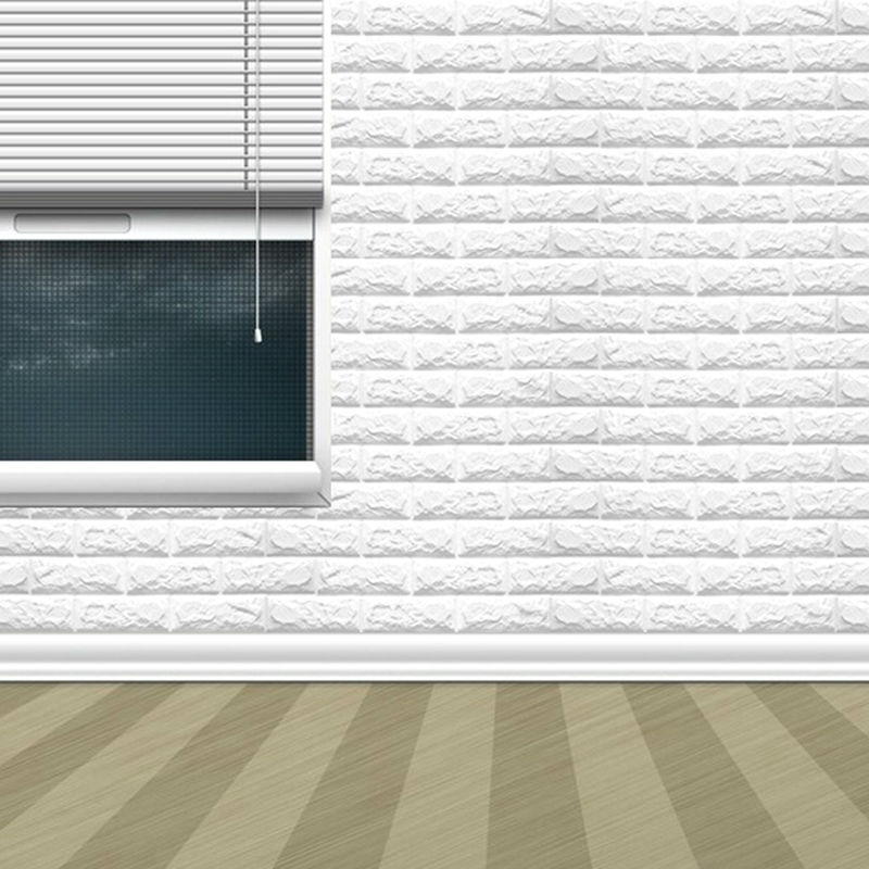 ᐂPE espuma pared pegatina natural Adhesivos de pared patrones 3D ...
