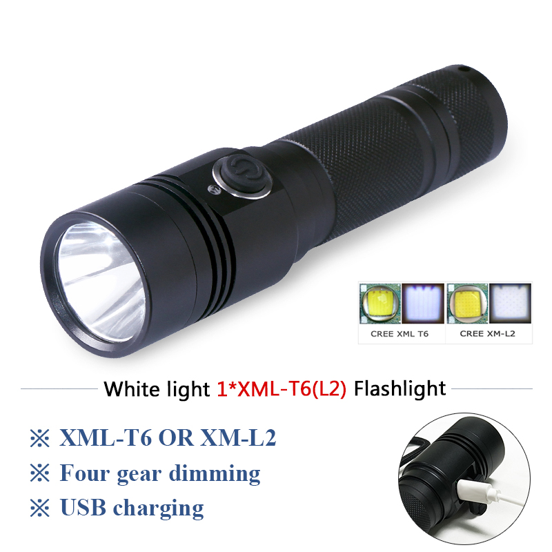 Led Lighting Considerate Tactical Flashlight Torch Cree Led L2 Usb Lampe Torche Ultra Puissante Taschenlampe Zaklamp Led Flashlight Usb 18650 Lanterna