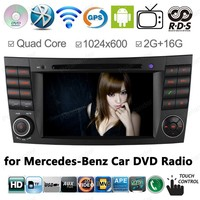 7 дюймов gps навигация 2G Оперативная память Автомобильный DVD плеер для Mercedes W211 E Class E280 W463 W219 с 3g/WI FI BT USB AUX