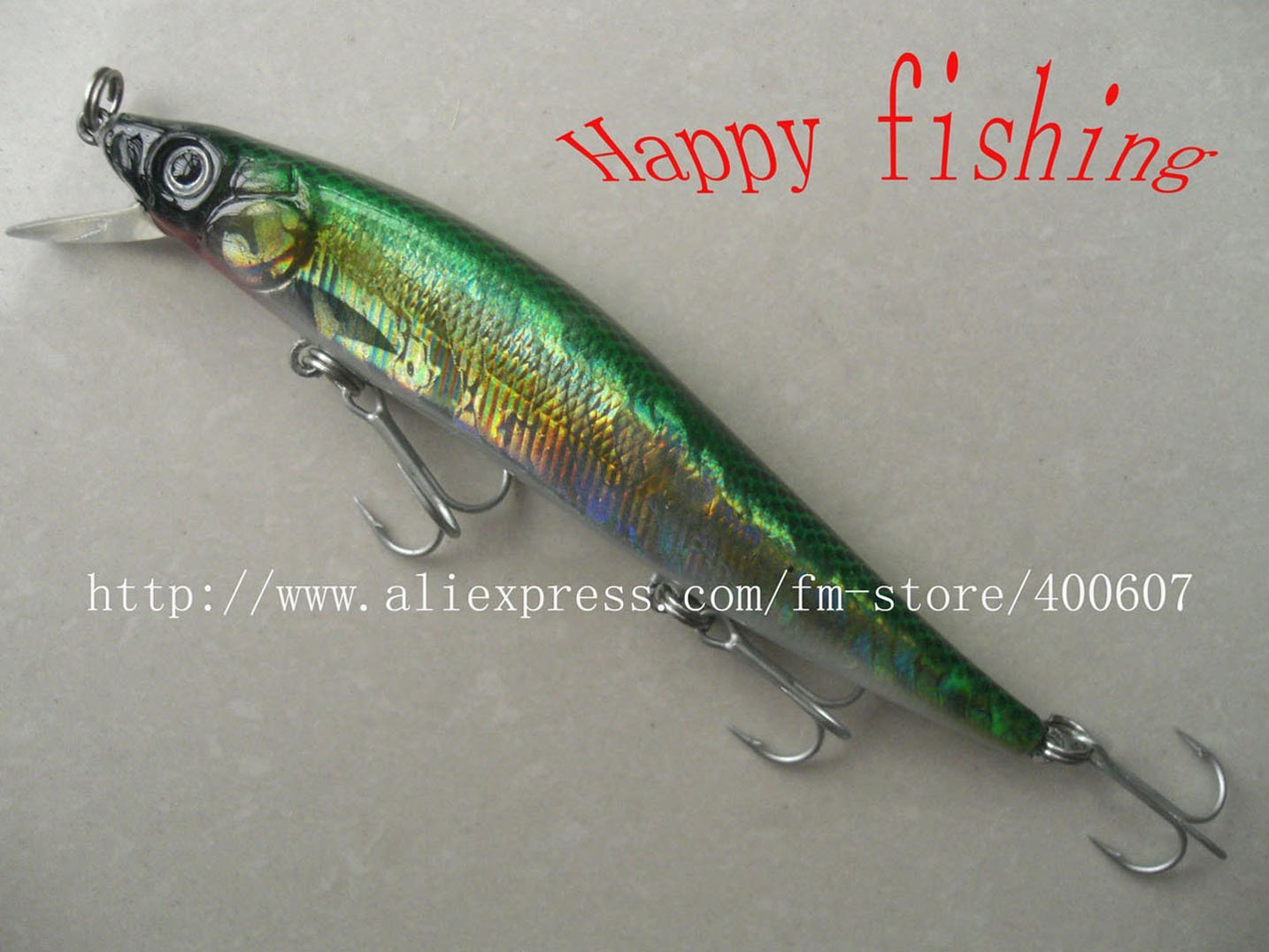 Bass Terminator  Minnow (M120S)Plastic  Fishing Lurejerk lure plastic hard bait fishing bait