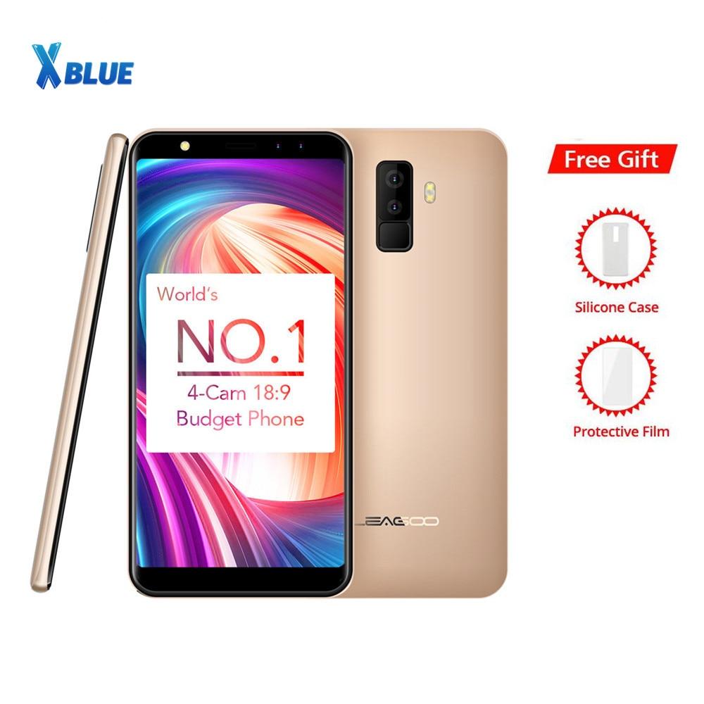"""Leagoo M9 18:9 na pełnym ekranie cztery kamery Android 7.0 MT6580A 5.5 """"Quad Core 2 GB pamięci RAM, 16 GB ROM 8.0MP linii papilarnych 3G WCDMA telefon komórkowy w Telefony Komórkowe od Telefony komórkowe i telekomunikacja na AliExpress - 11.11_Double 11Singles' Day 1"""