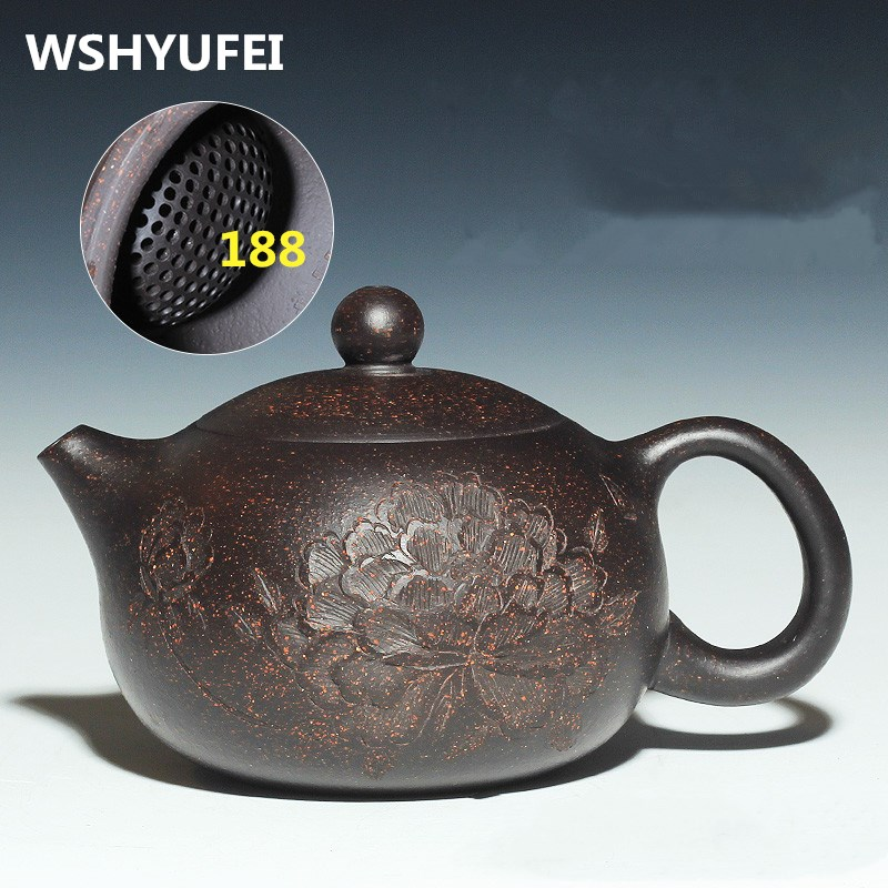 150ML Authentic Yixing Teapot Master Handmade Chinese Health Purple Clay Kung Fu Tea Set Xi Shi Pot Multi style Selection