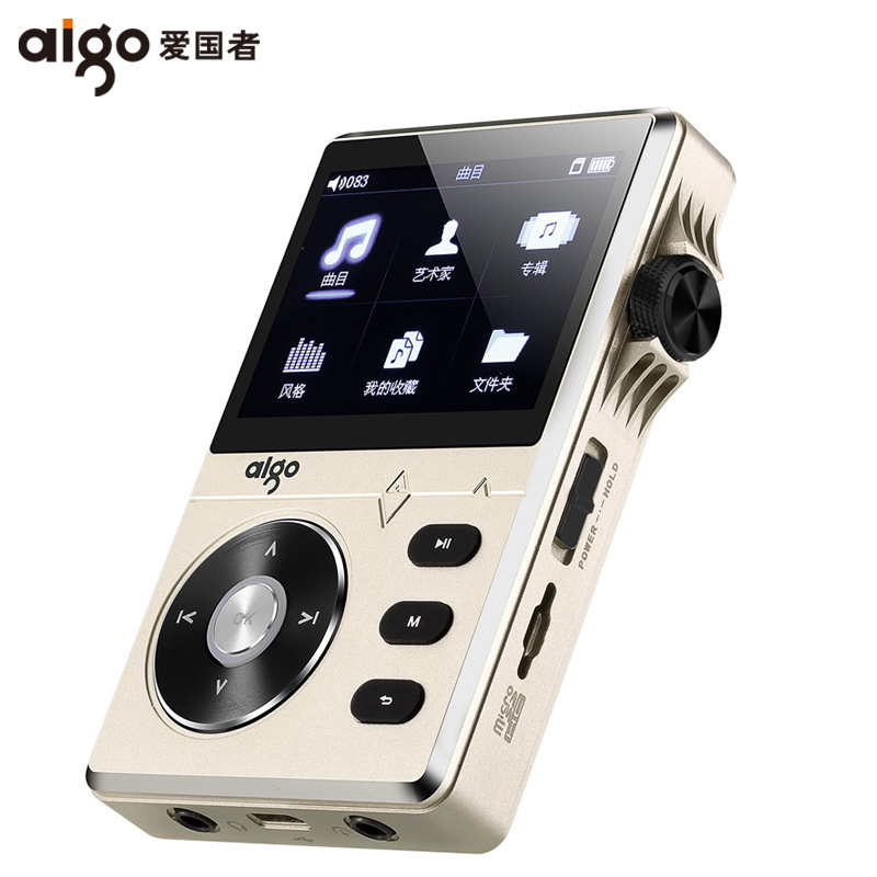 Unterhaltungselektronik Liefern Original Aigo Mp3-108 Hochwertige Lossless Hifi Musik-player Mit Bildschirm Tragbare 8g Unterstützung Ape/flac/wma/wav/ogg/acc/mp3
