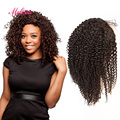 7A Virgin Brazilian Kinky Curly Human Hair Glueless Lace Front Wigs For Black Women,Brazilian virgin Hair Glueless Lace Wigs