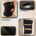 1 pc Basquete voleibol Knee pads brace alívio da dor nas Articulações Rótula joelheira respirável Apoio Protetor De Joelho Leesport Z14701