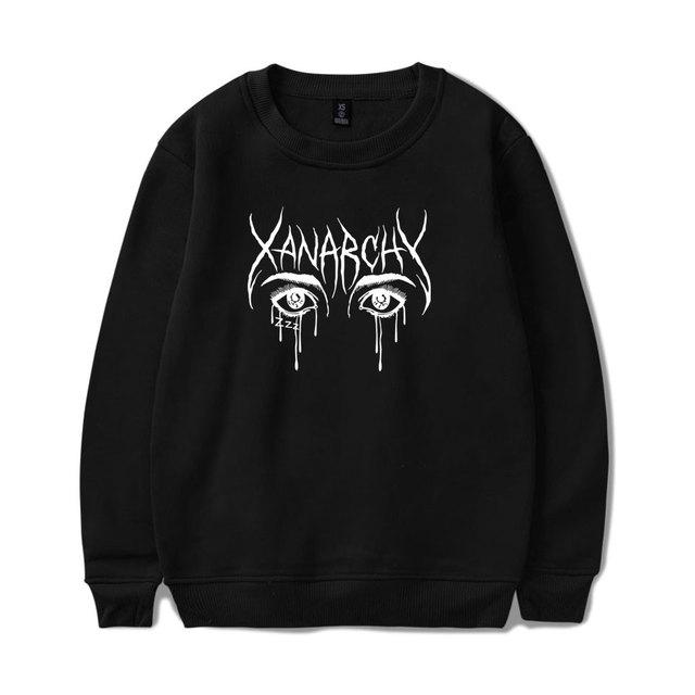Lil Xan Xanarchy Sweatshirts Cool And Fashion Harajuku Men Sweatshirt Hip Hop Spring Men/women Sweatshirts Hoodie