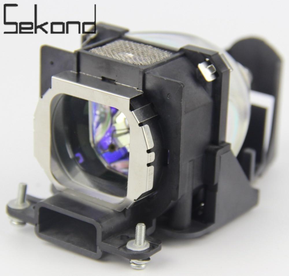 SEKOND ET-LAC80 Projector Lamp with Housing For Panasonic PT-LC56 PT-LC56U PT-LC76 PT-LC80 PT-U1X86 PT-U1X66 high quality et lac80 etlac80 projector lamp housing dlp lcd for panasonic pt lc56 pt lc76 pt lc76u pt lc80 pt u1s66 pt u1x66