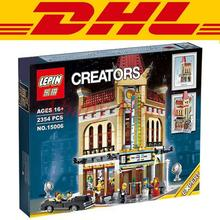 LEPIN 15006 Modular Moc Creator Houses Palace Cinema Building Block Set Bricks Kits Minifigure Toys Compatible 10232